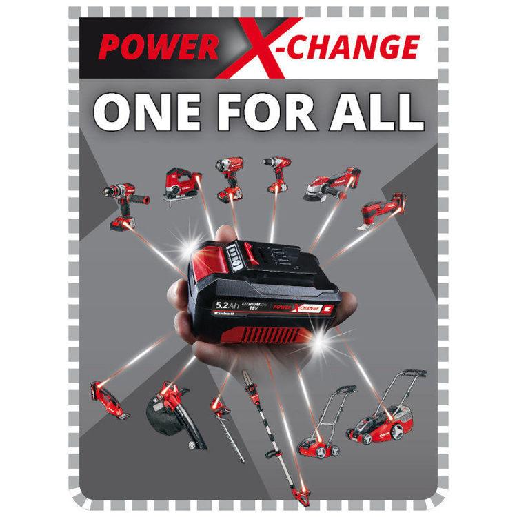 Alles EINHELL baterija 18V 5,2 Ah POWER X-CHANGE PLUS