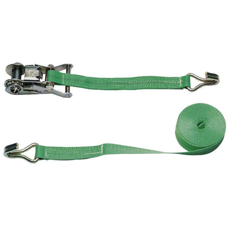 alles pojas za vezivanje sa zaustavljačem 6m/35mm - 2000 kg zeleni