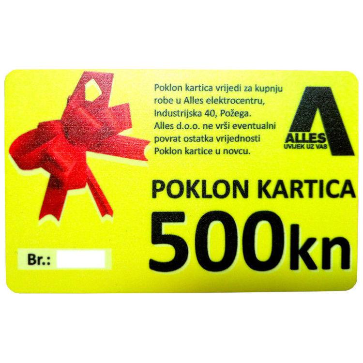 ALLES poklon kartica 500 kn
