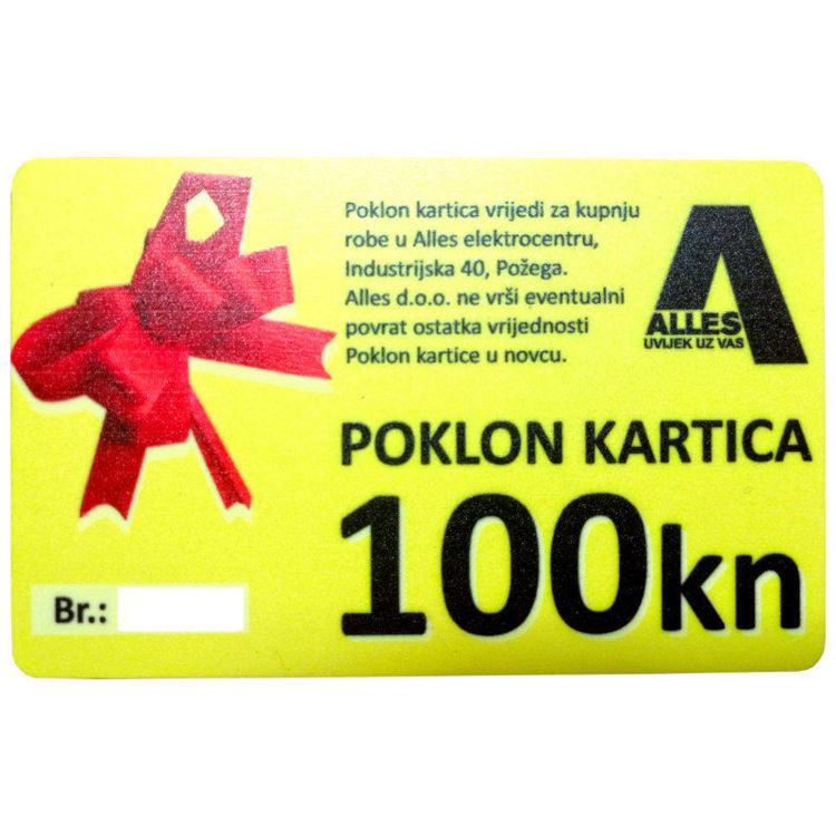 ALLES poklon kartica 100 kn