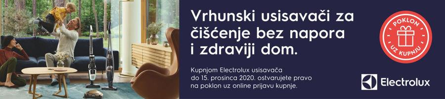 Uz kupnju Electrolux usisavača - poklon uz online prijavu!