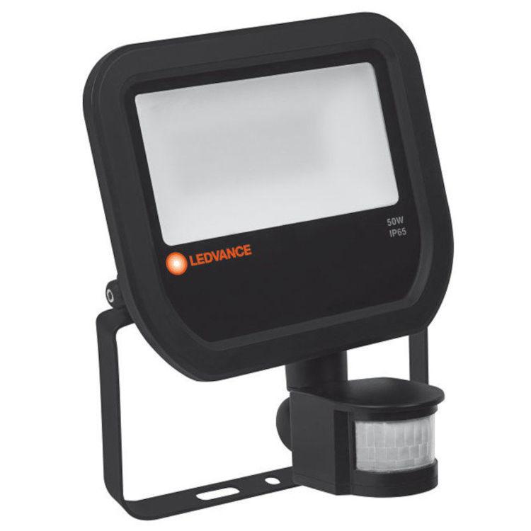 Alles LEDVANCE LED reflektor FLOODLIGHT 50 W 4000 K IP65 BK S