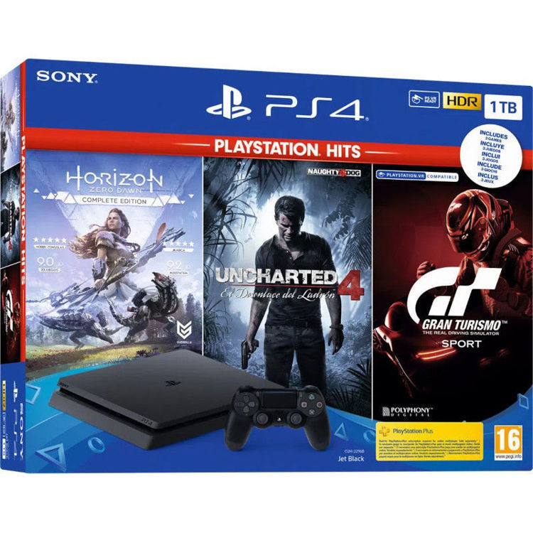 Alles SONY PlayStation 4 1TB F chassis
