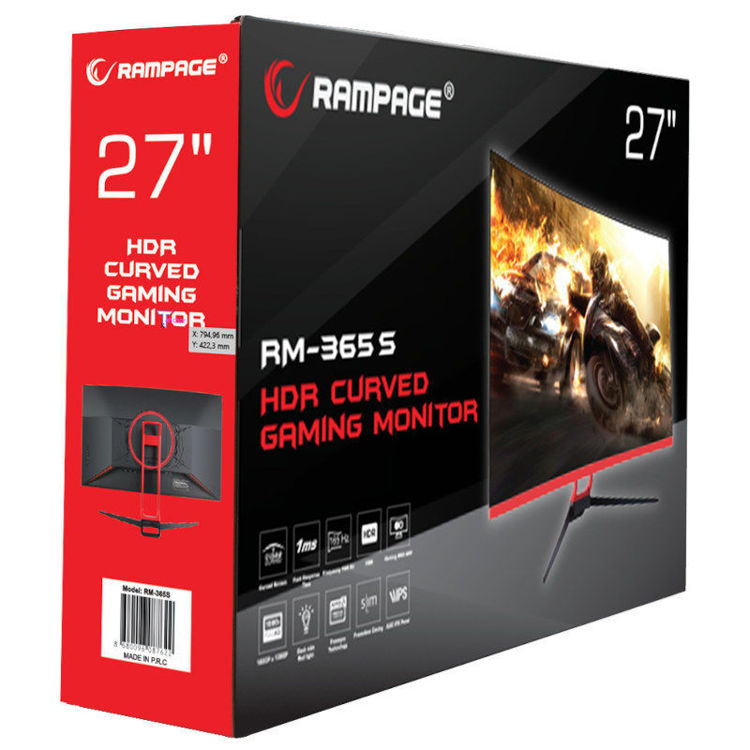 Alles RAMPAGE monitor RM-365S 27""