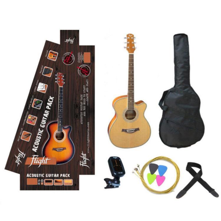 Alles FLIGHT gitara akustična F-230C NAT + pribor s torbom