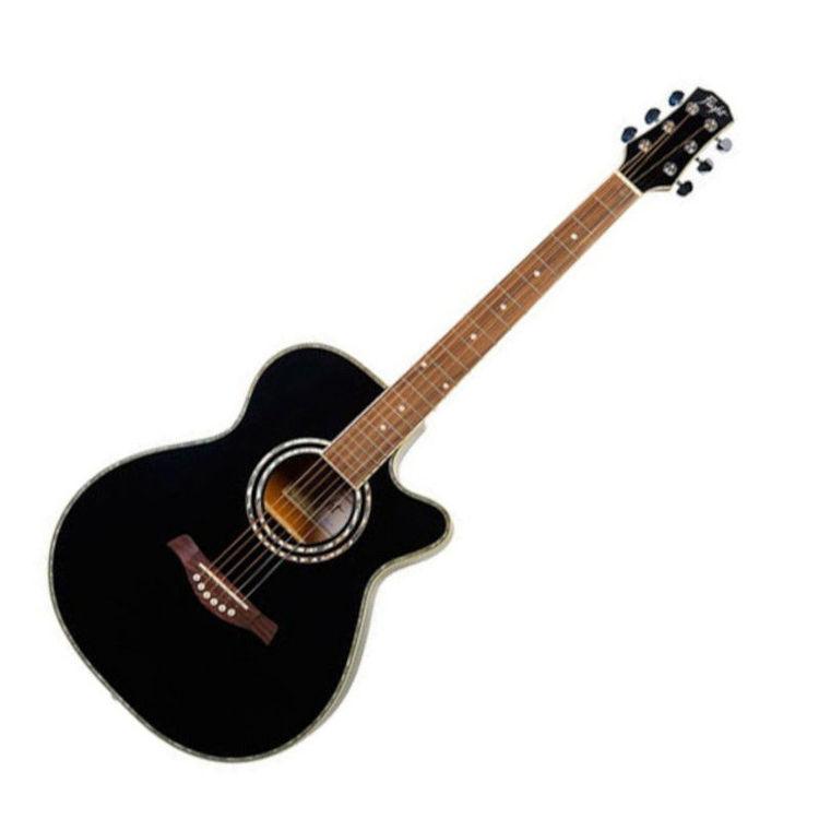 Alles FLIGHT gitara eletrično akustična F-230 CEQ CRNA