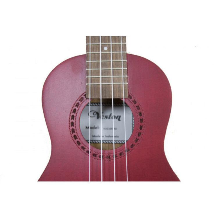 Alles VESTON ukulele KUC100 RD koncert CRVENA