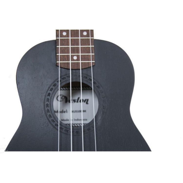 Alles VESTON ukulele KUS100 BK sopran CRNA