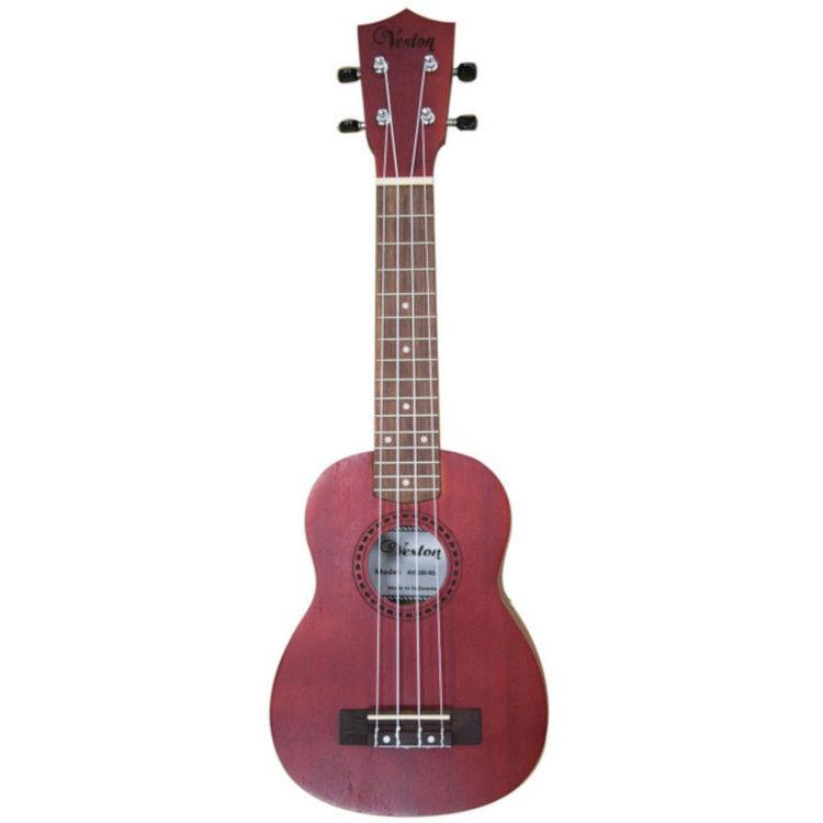 Alles VESTON ukulele KUS100 RD sopran CRVENA