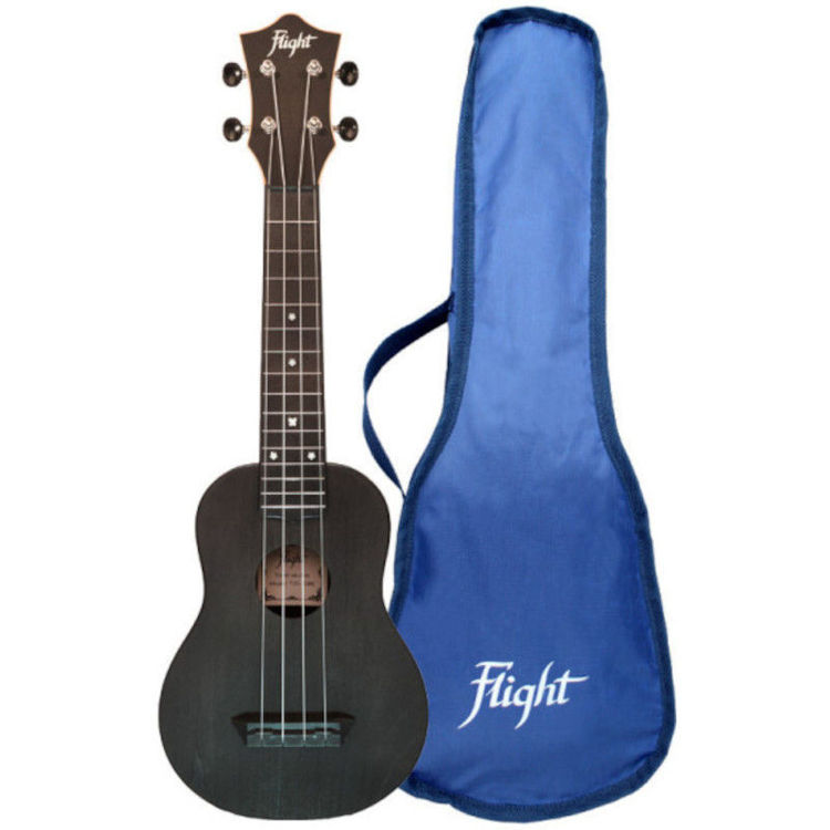 Alles FLIGHT ukulele TUS35BK travel sopran CRNA