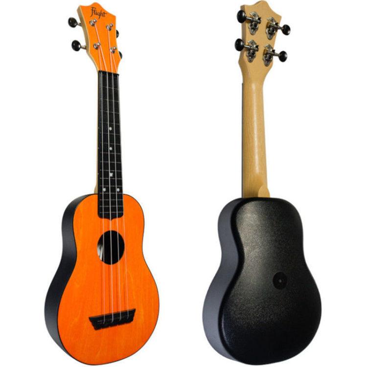 Alles FLIGHT ukulele TUS35OR travel sopran NARANČASTA