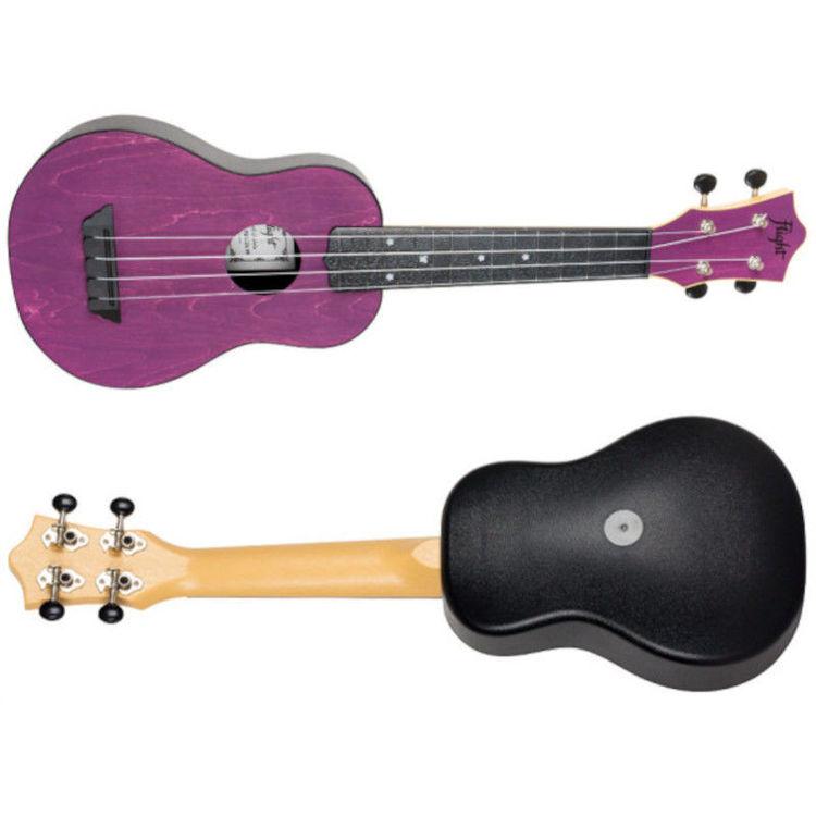 Alles FLIGHT ukulele TUS35PP travel sopran LJUBIČASTA