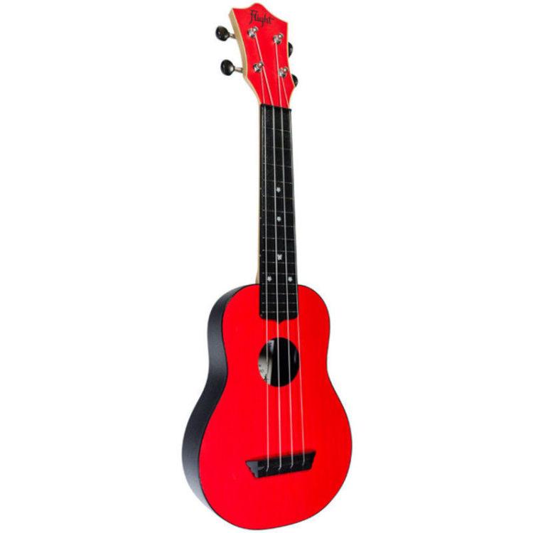 Alles FLIGHT ukulele TUS35RD travel sopran CRVENA