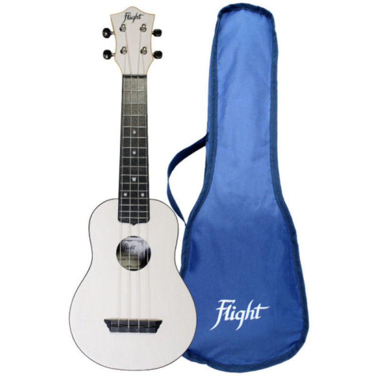 Alles FLIGHT ukulele TUS35WH travel sopran BIJELA
