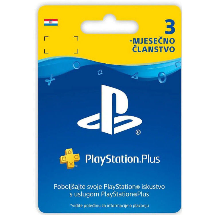 Alles SONY PlayStation Plus Card 90 Days Hanger