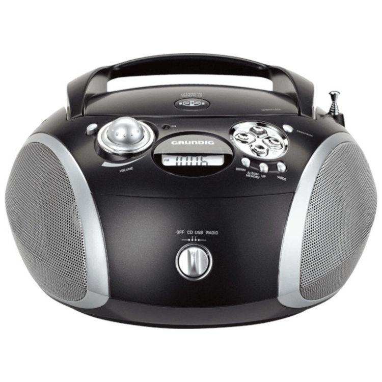 Alles GRUNDIG radio CD player GRB2000 CRNA/SREBRNA