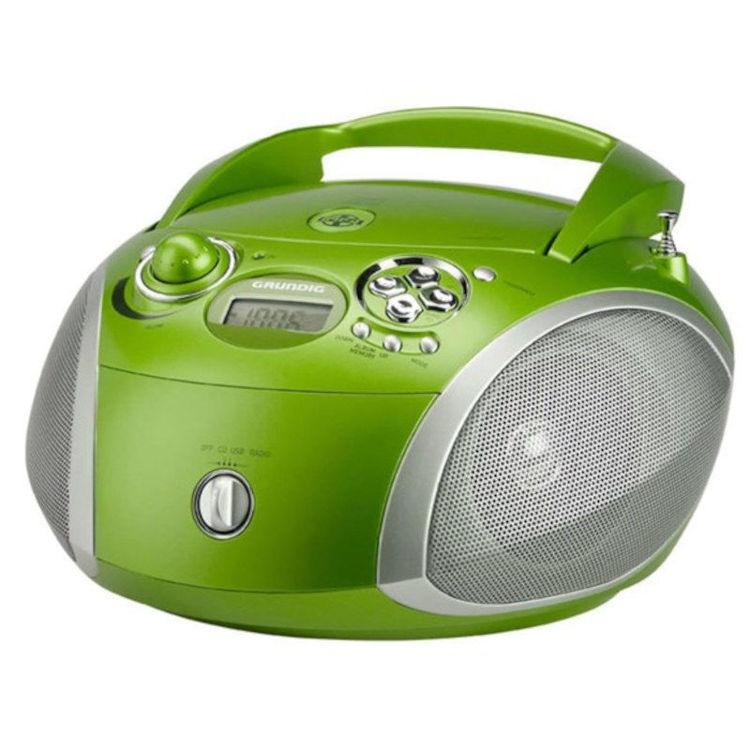 Alles GRUNDIG radio CD player GRB2000 ZELENO/SREBRNA