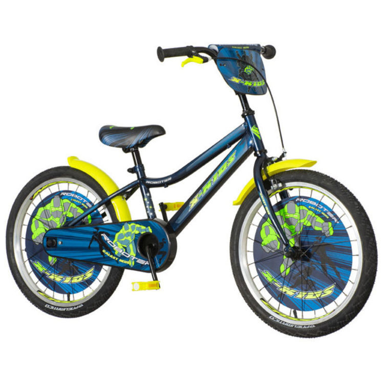 "Alles Bicikl 20"" ROBOTER PLAVI"