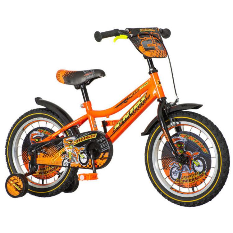 "Alles Bicikl 16"" MOTOCROSS NARANČASTI"