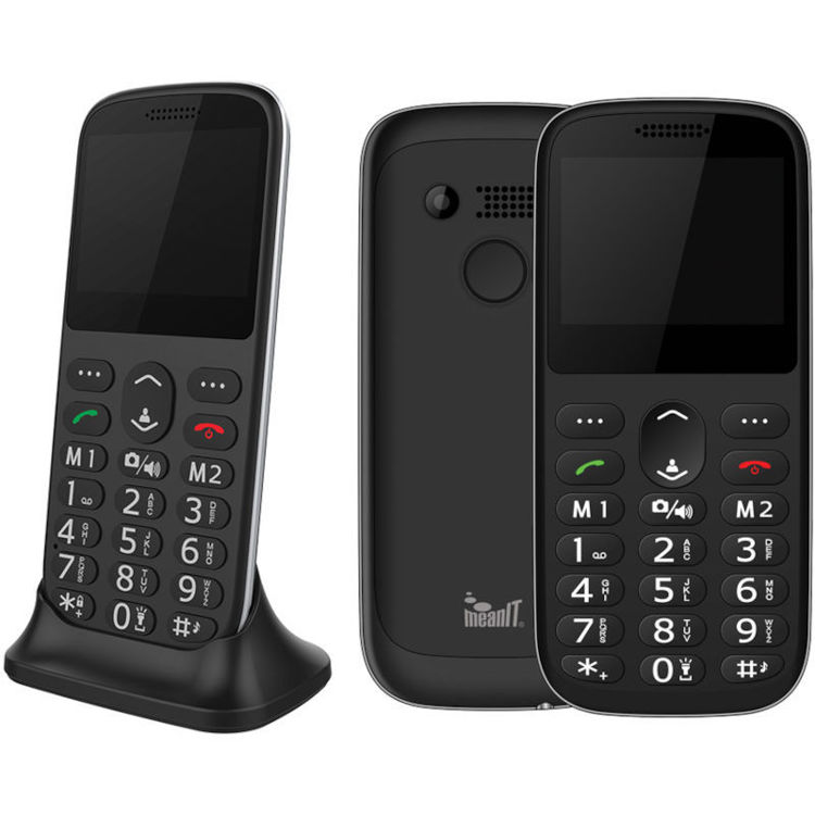 Alles MEANIT mobilni telefon SENIOR IV CRNI