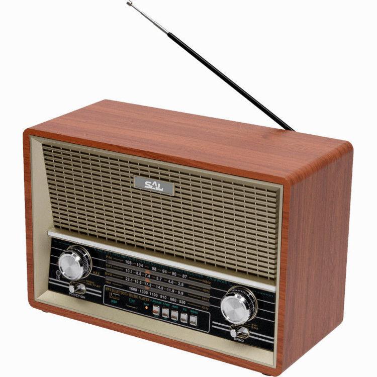Alles SAL Retro radio + BT bežični zvučnik RRT 4B