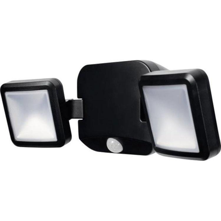 Alles LEDVANCE LED reflektor baterijski dupli CRNI