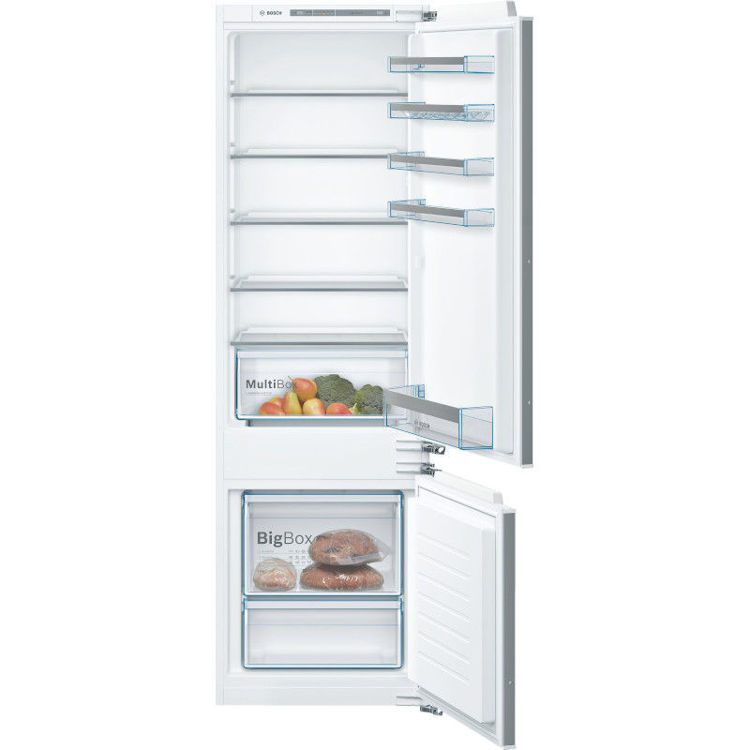 Alles BOSCH hladnjak ugradbeni kombinirani KIV87VFF0