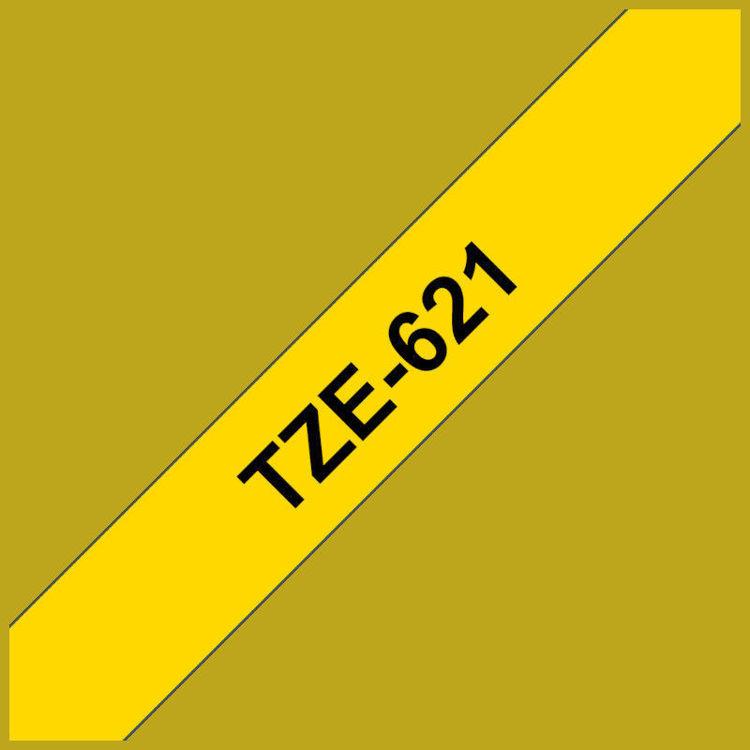 Alles BROTHER traka za označavanje TZE621 CRNA-ŽUTA