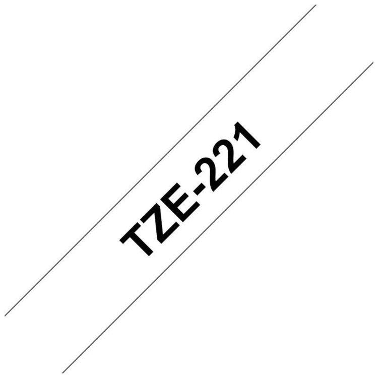 alles BROTHER traka za označavanje TZE221 BIJELA-CRNA