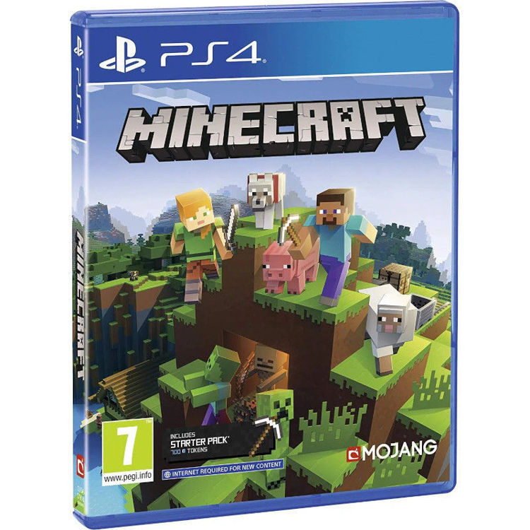 Alles Minecraft Bedrock PS4