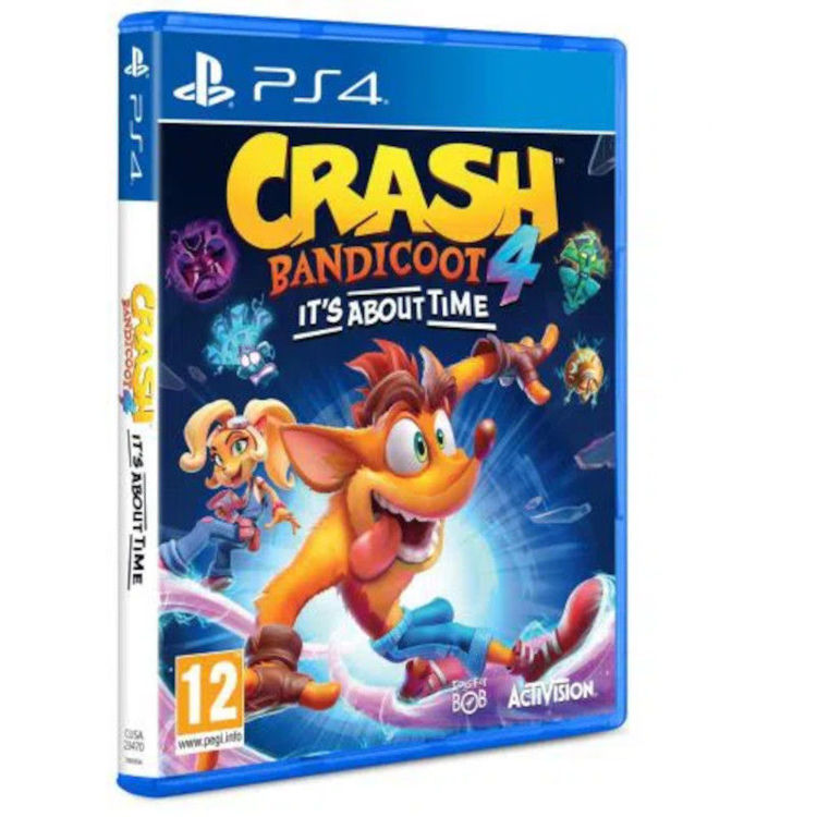 Alles Crash Bandicoot 4: It's About Time PS4