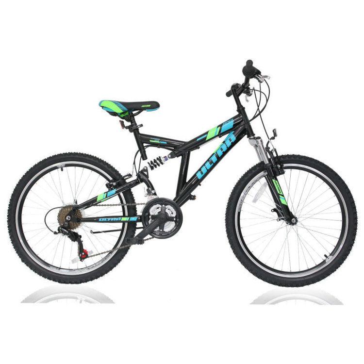 """Alles Bicikl ultra APEX 24"""" CRNI"""
