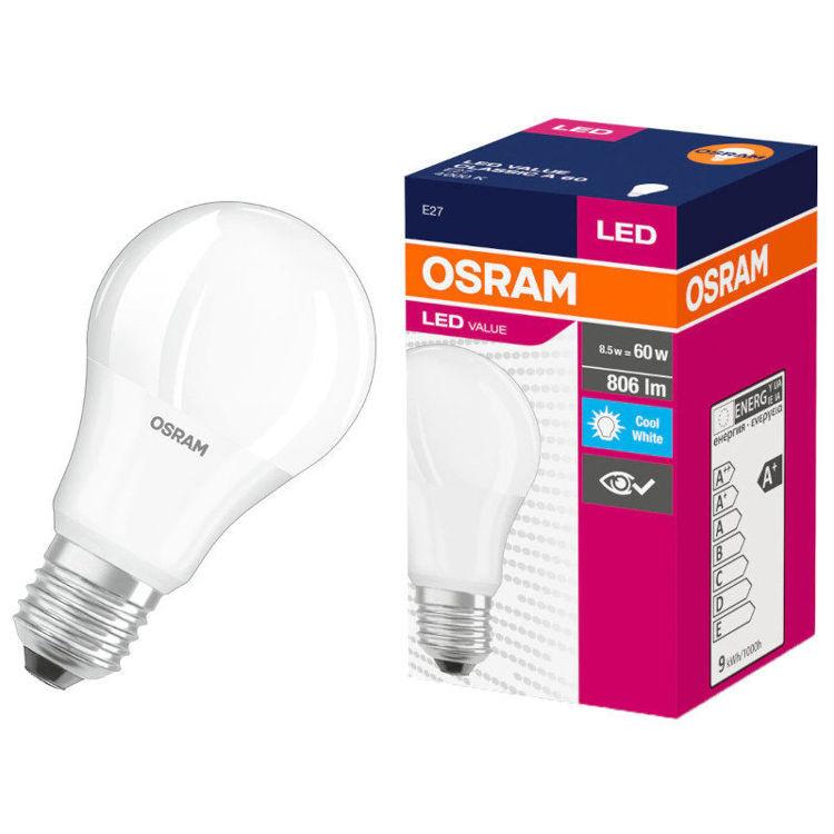 Astra OSRAM LED žarulja VALUE CLAS A 60 8.5 W/4000K E27