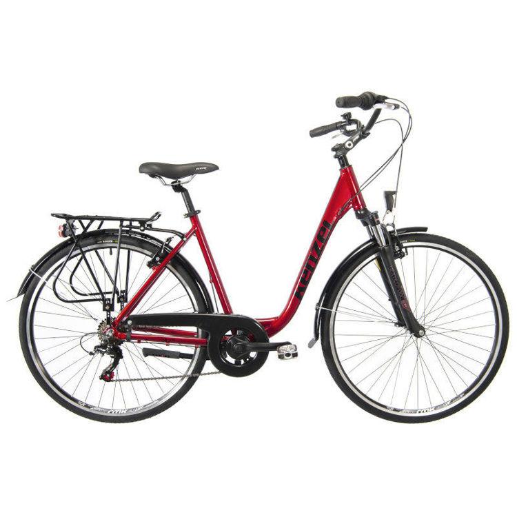 "Alles KENZEL bicikl SILUET 28"" 460 mm BORDO"