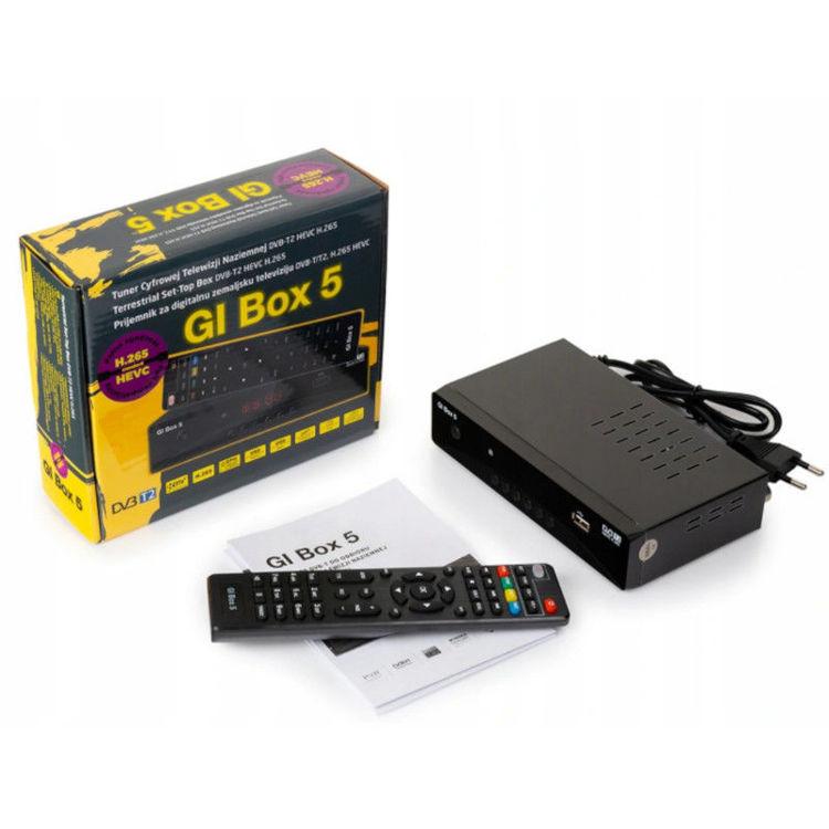 Alles DVB-T2 prijemnik GI BOX 5