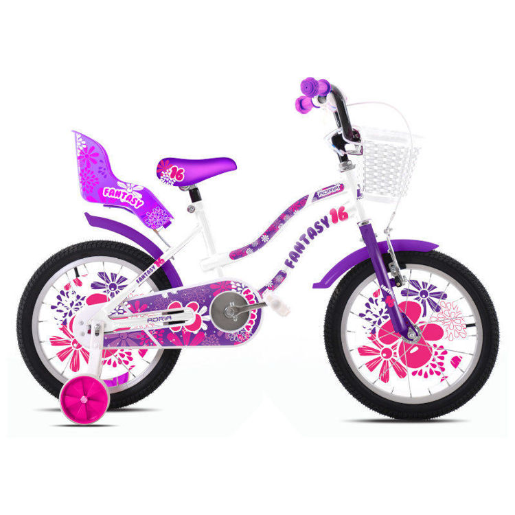 "Alles CAPRIOLO bicikl FANTASY WHITE-VIOLET 16"""