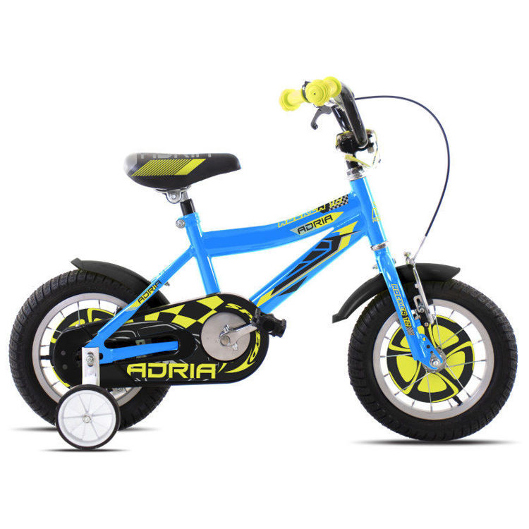 "Alles CAPRIOLO bicikl ADRIA ROCKER 12"" BLUE-YELLOW"