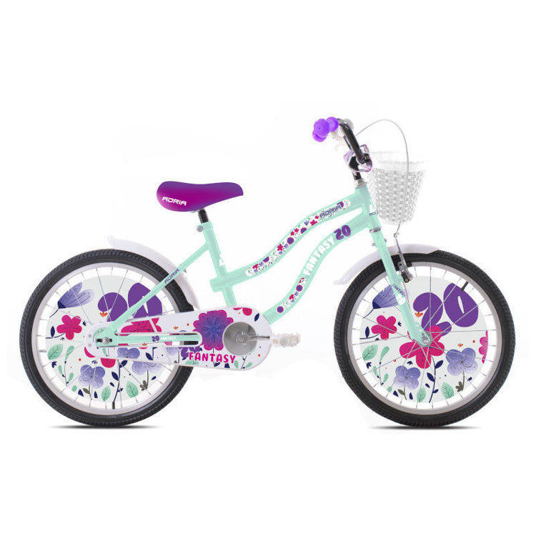 "Alles CAPRIOLO bicikl ADRIA FANTASY 20"" TURQUISE WHITE"