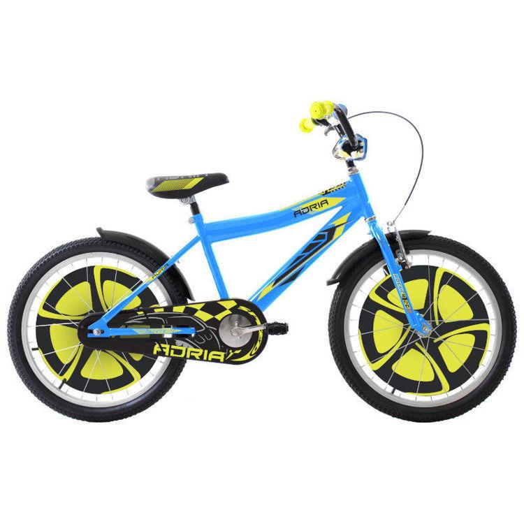 "Alles CAPRIOLO bicikl ADRIA FANTASY 20"" BLUE-YELLLOW"