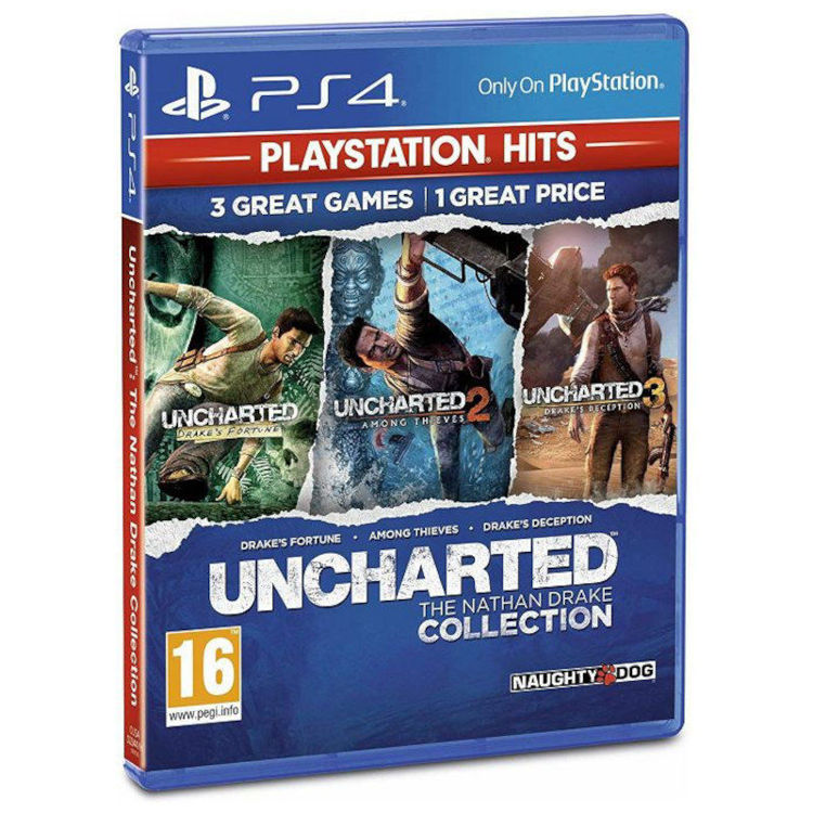 Alles Uncharted Collection HITS PS4