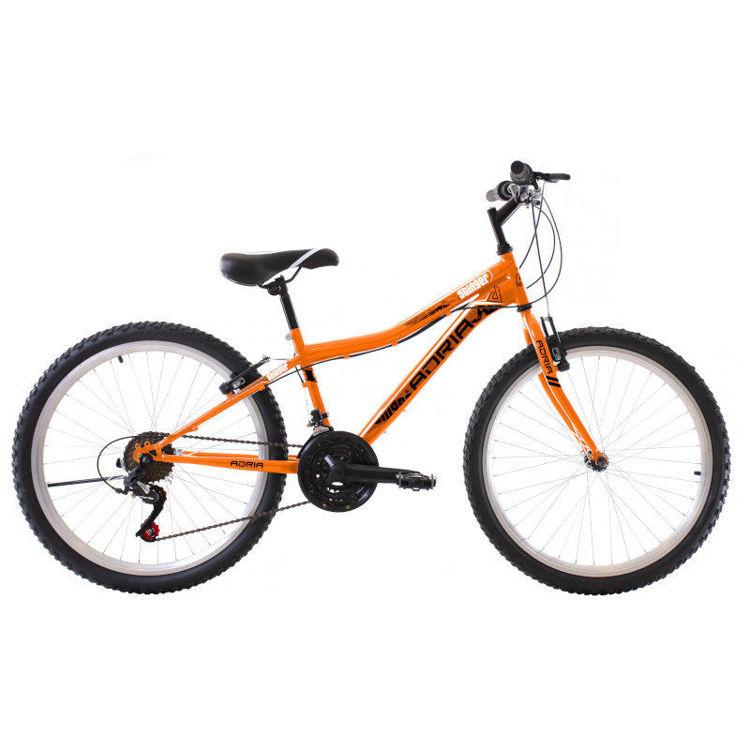 """Alles CAPRIOLO bicikl ADRIA STINGER 24"""" GRAF-ORANGE"""