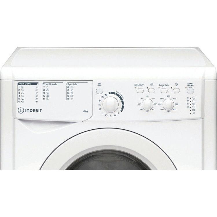 Alles INDESIT perilica rublja EWSC61251W EU N