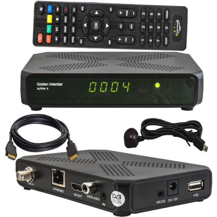 Alles DVB-S2 prijemnik ALPHA X