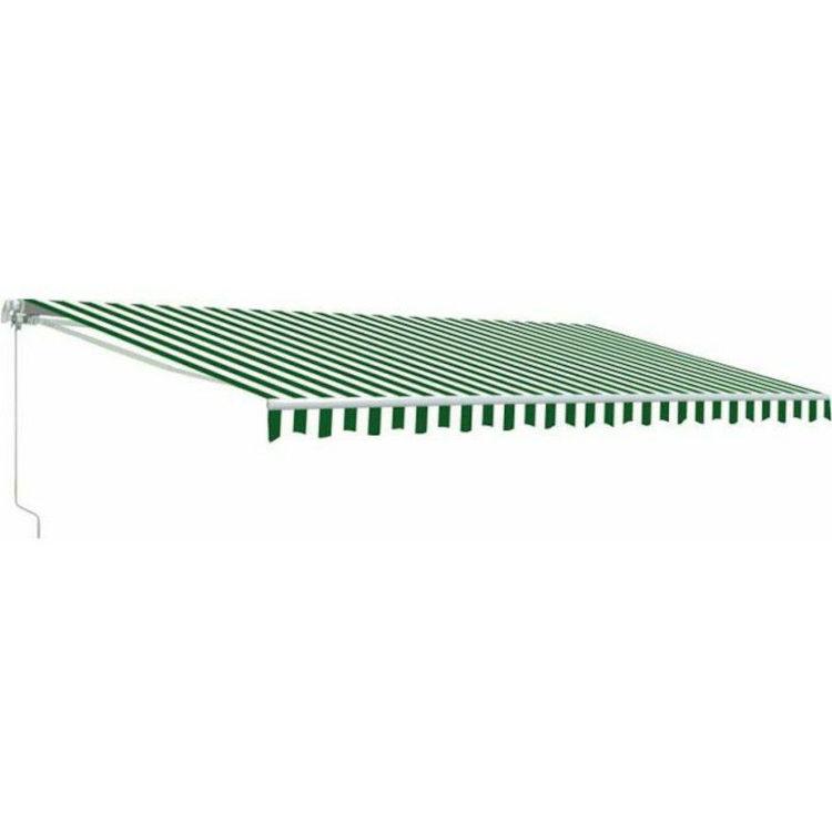 Alles Tenda 4x2,5 m ZELENO-BIJELA