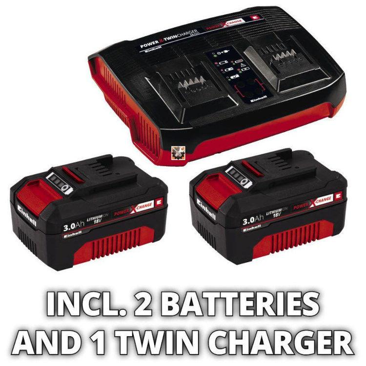 Alles EINHELL akumulatorska kosilica GE-CM 36/37 LI (2x3Ah)
