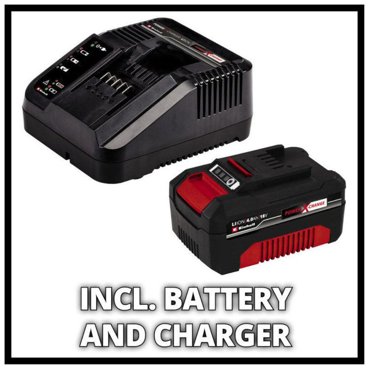 Alles EINHELL akumulatorska kosilica GE-CM 18/33 Li (1x4,0Ah)