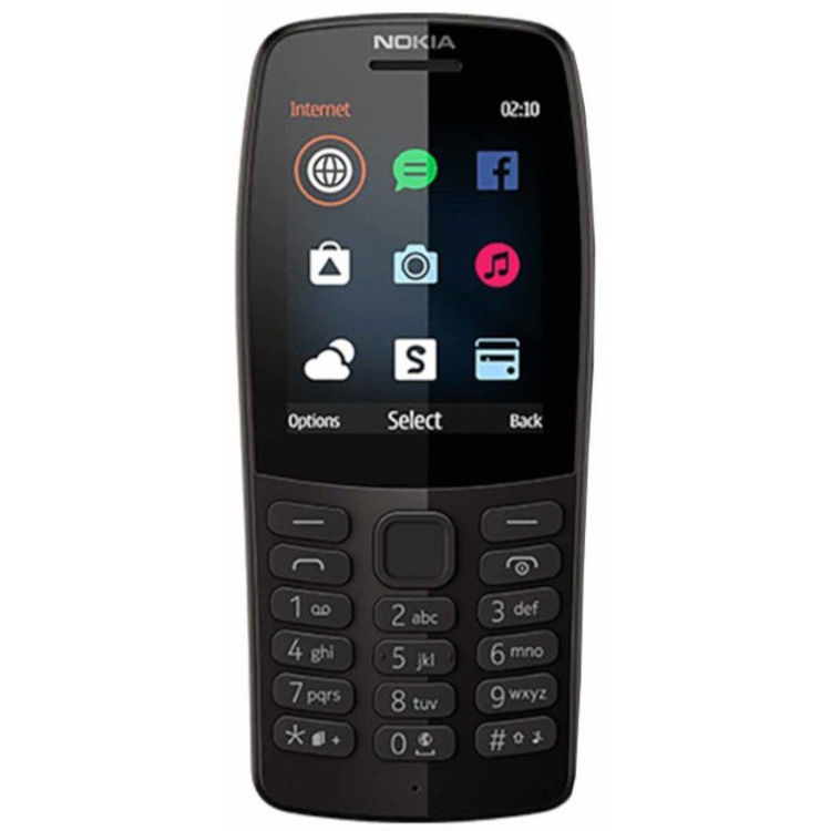 Alles NOKIA mobilni telefon 210 DS CRNI