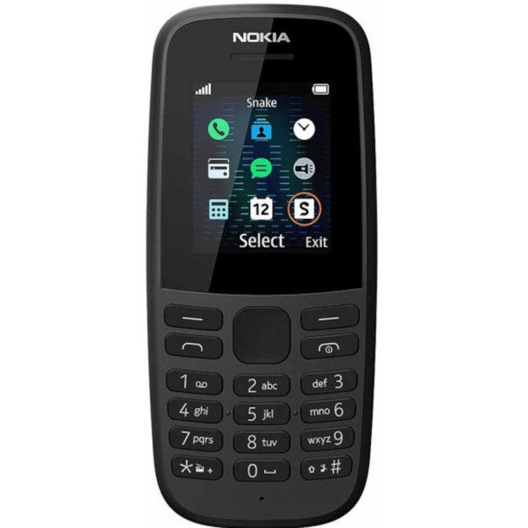 Alles NOKIA mobilni telefon 105 2019 DS CRNI