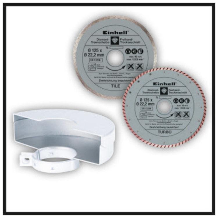 Alles EINHELL kutna brusilica Set TE-AG 125 CE Kit