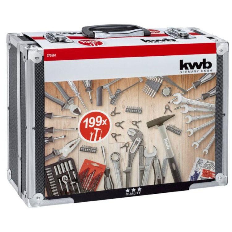 Alles KWB kovčeg sa alatom KWB (199 dijelni)